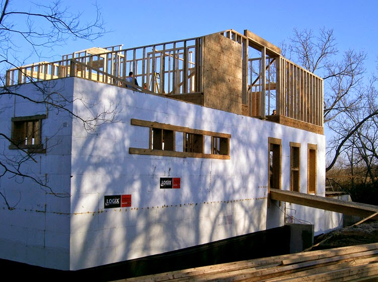 icf home designs. A Few Years Ago  I Had A Rather Industrious Owner Who Saw The Cost Advantage Of An ICF Structure When You Build It Yourself In This Particular Case Modern House Design At ClemDesign Builder