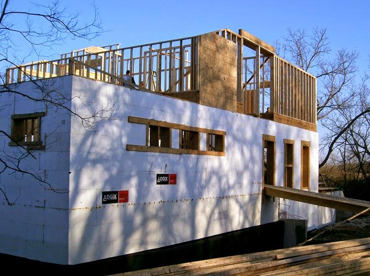 Modern House Design At ClemDesign: ICF Owner / Builder