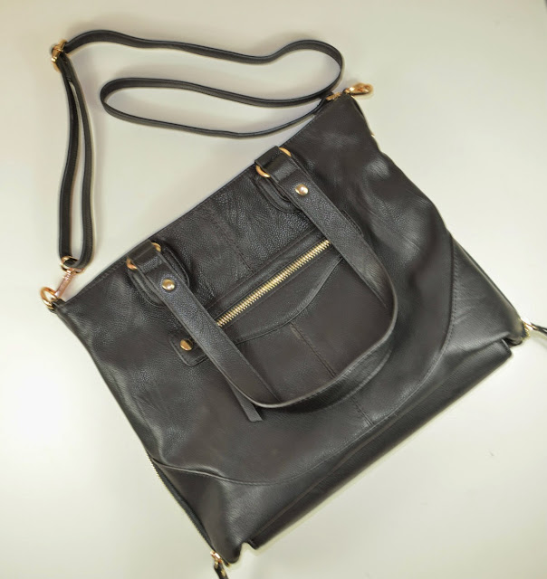 House of Fraser - Satchel - Handbag - Sandy satchel Oasis - Oasis - Gold Detailing - Fashion - Leather Look - Accessories - over the shoulder - across the body - review