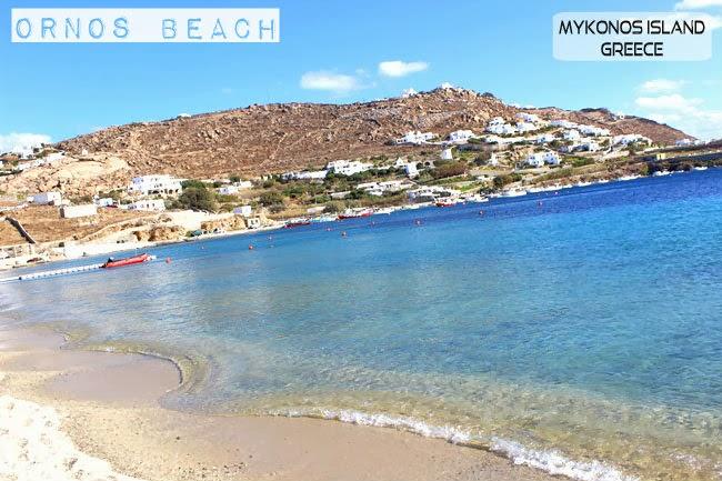 Ornos beach Mykonos island