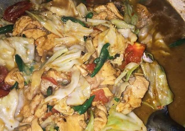 Cara masak Tongseng ayam sedap pedas