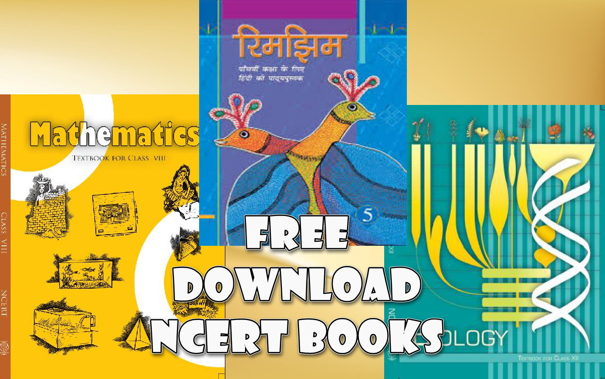 Free Download NCERT/CBSE Text Books for Class 1 to 12