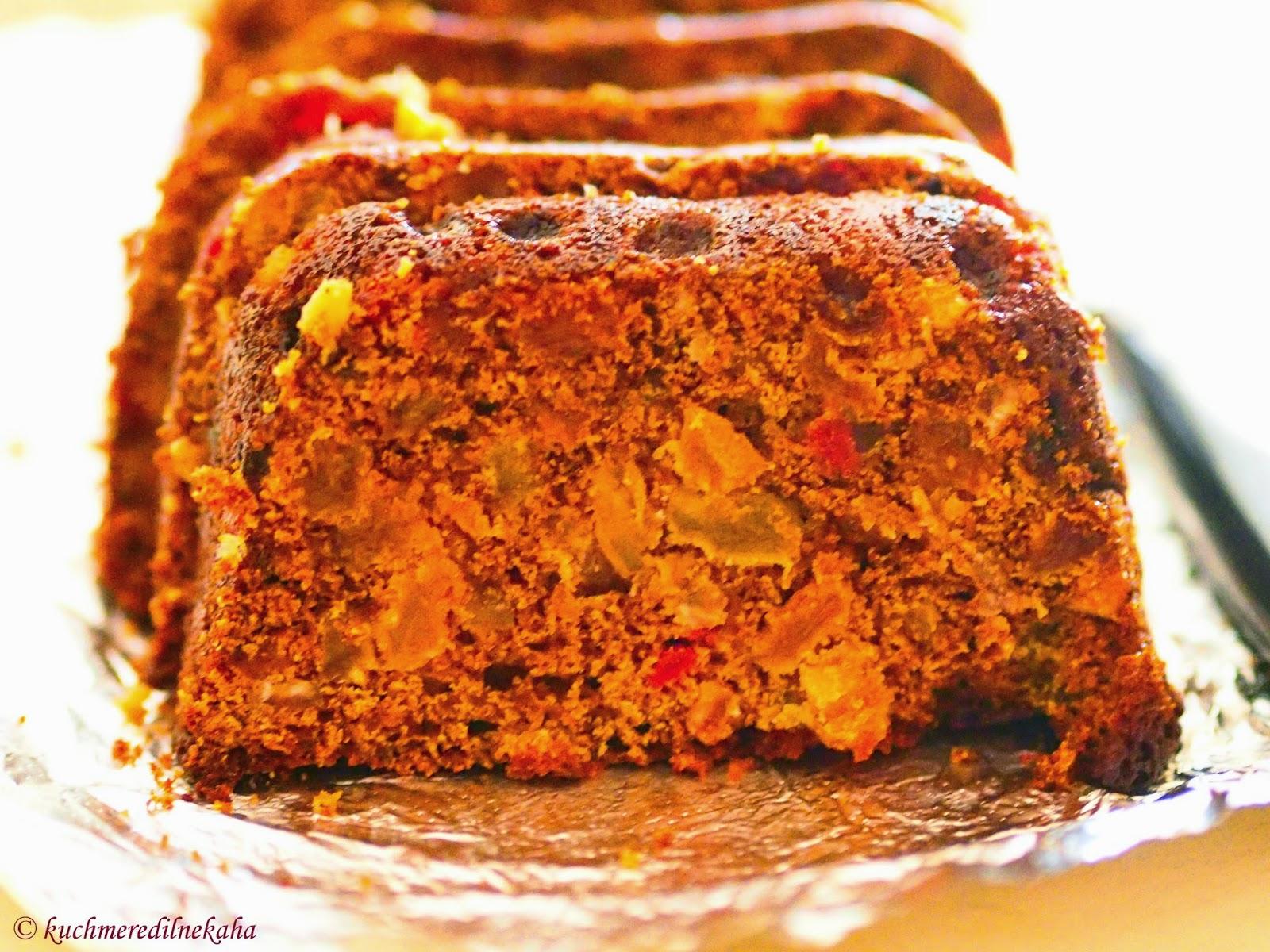 Various Cake Recipes In Marathi: Meri Rasoi: EASY FRUIT CAKE