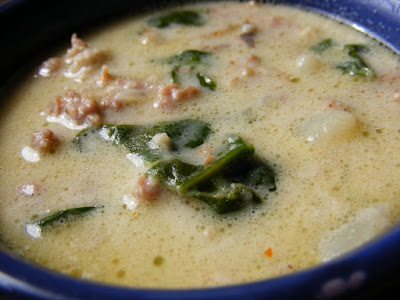 Hot, delicious soup cooked in the Instant Pot.