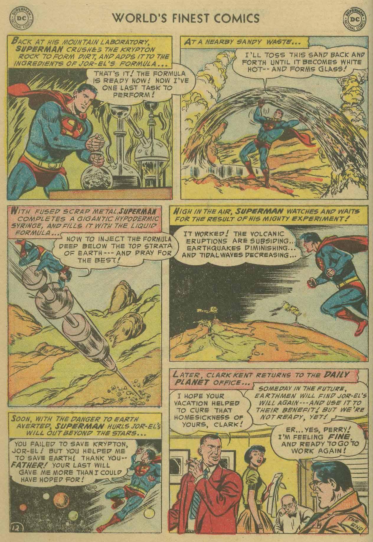 Read online World's Finest Comics comic -  Issue #69 - 14