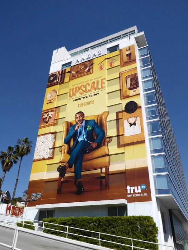 Giant Upscale Prentice Penny series premiere billboard
