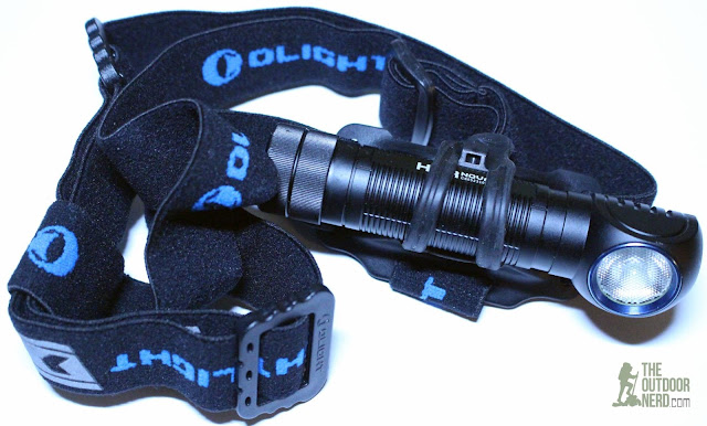 Olight H2R Nova LED Headlamp - Product View