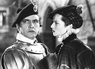 María y Bothwell según la (plagada de anacronismos) película de John Ford