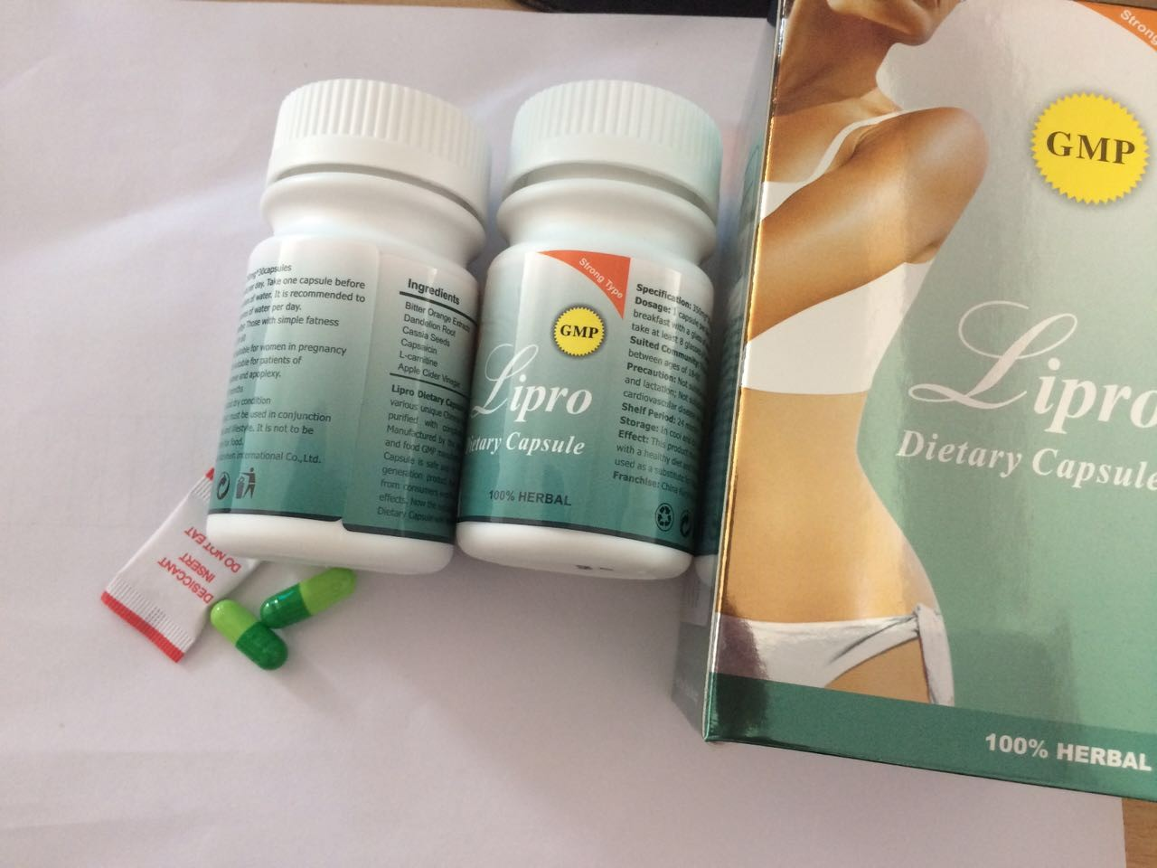 Lipro Slimming Dietary Capsules Lipro Magnetc Belly Slim Patch
