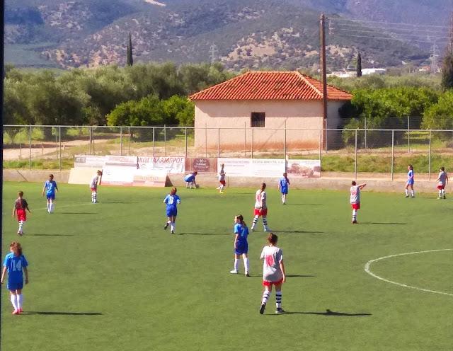 Με επιτυχία οι φιλικούς αγώνες γυναικείων ομάδων ποδοσφαίρου στο Δ.Α.Κ. Λέρνας
