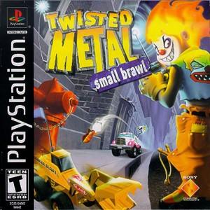 capa do jogo twisted metal 5 small brawl PS1 2001 site-jogo