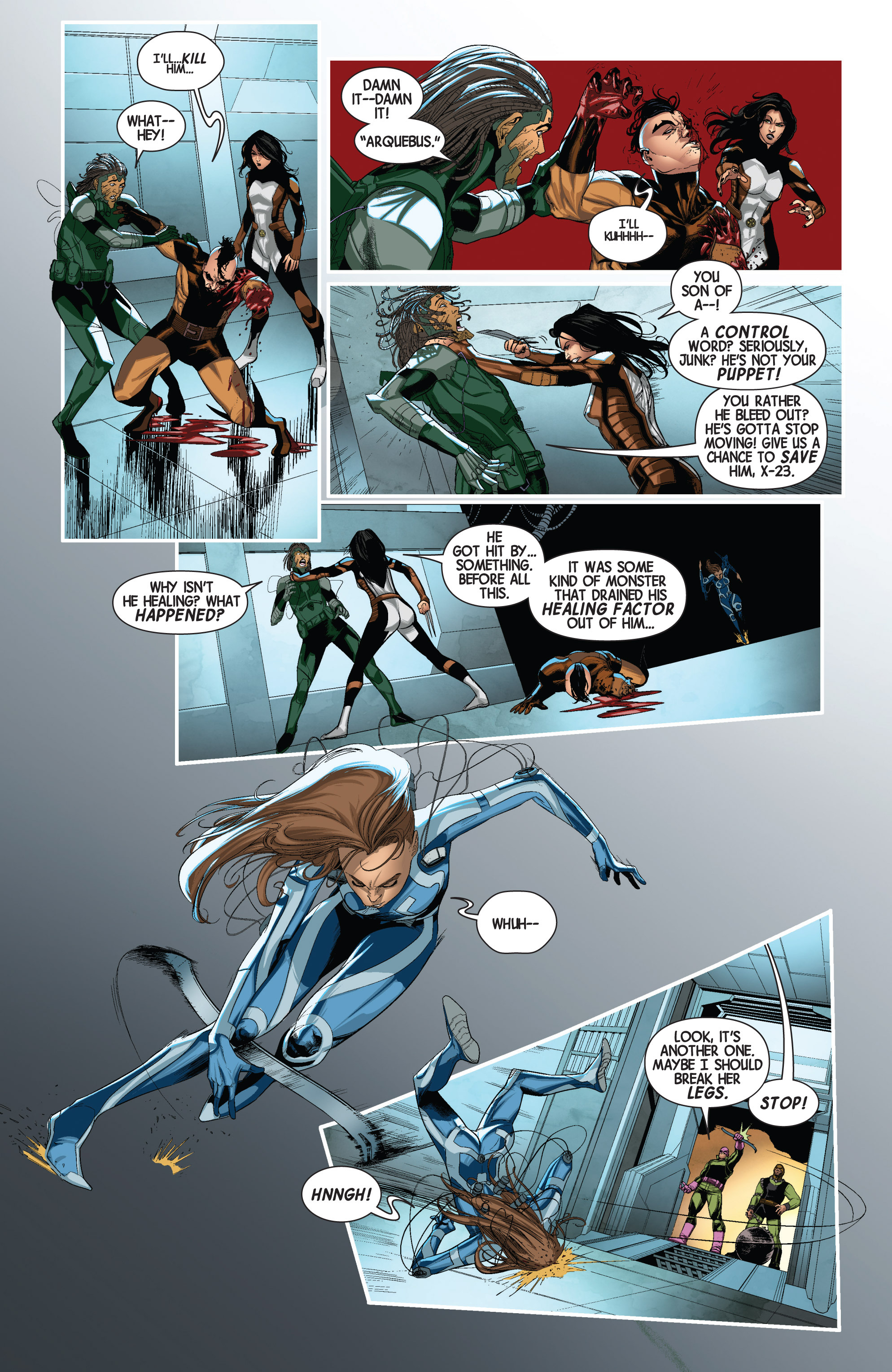 Read online Wolverines comic -  Issue #2 - 6
