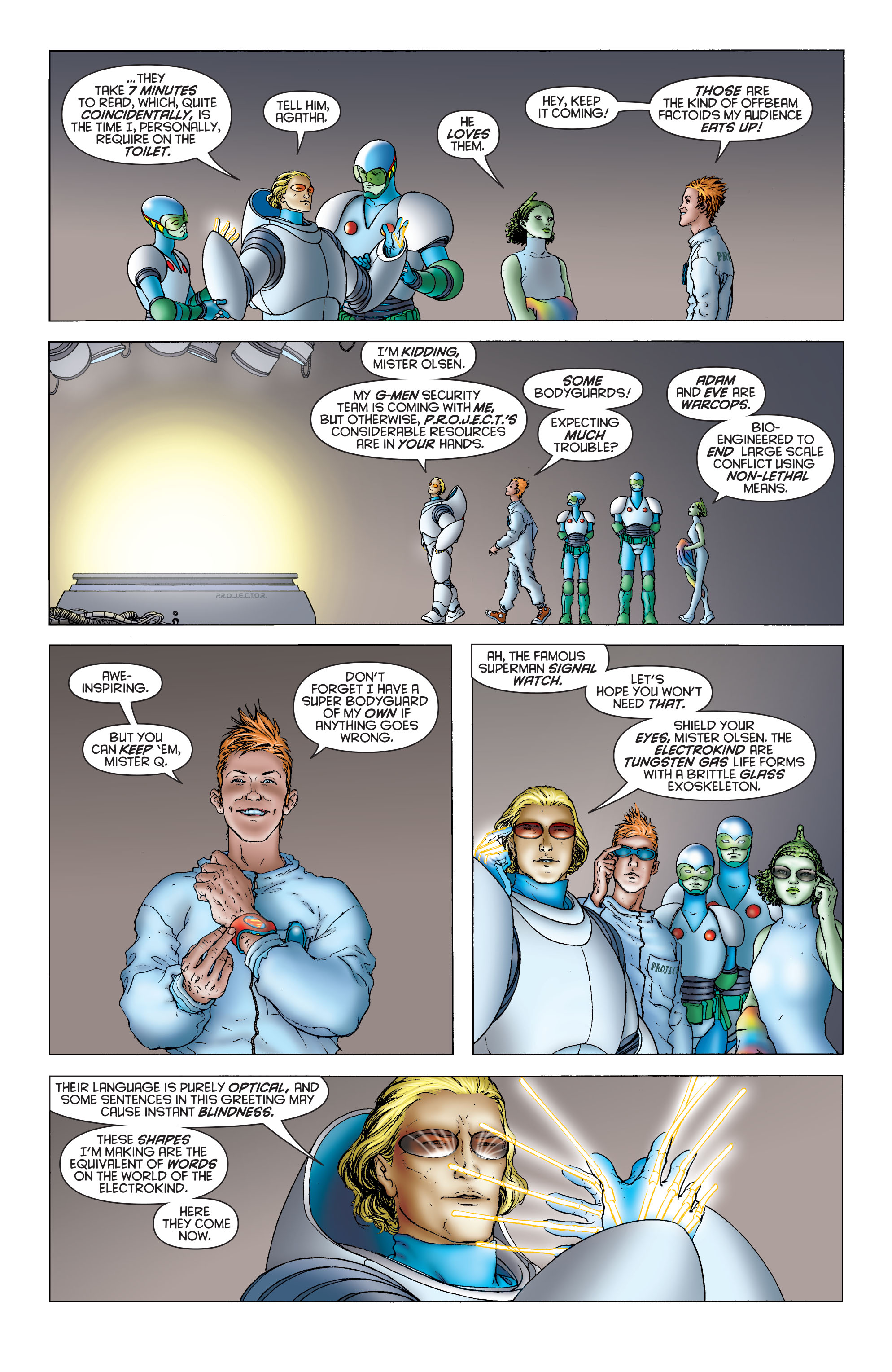 Read online All Star Superman comic -  Issue #4 - 4
