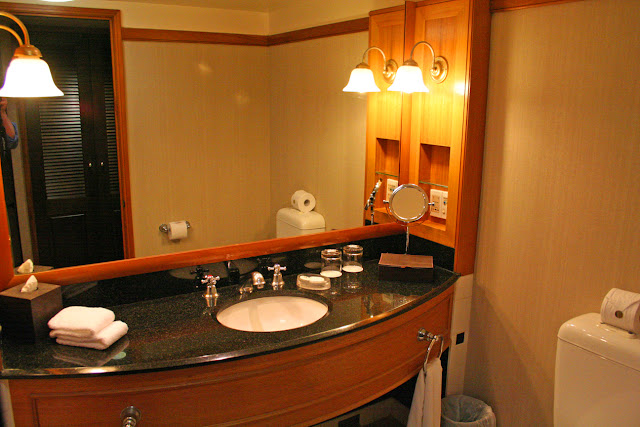 Bathroom, The Langham Hotel, Auckland, New Zealand