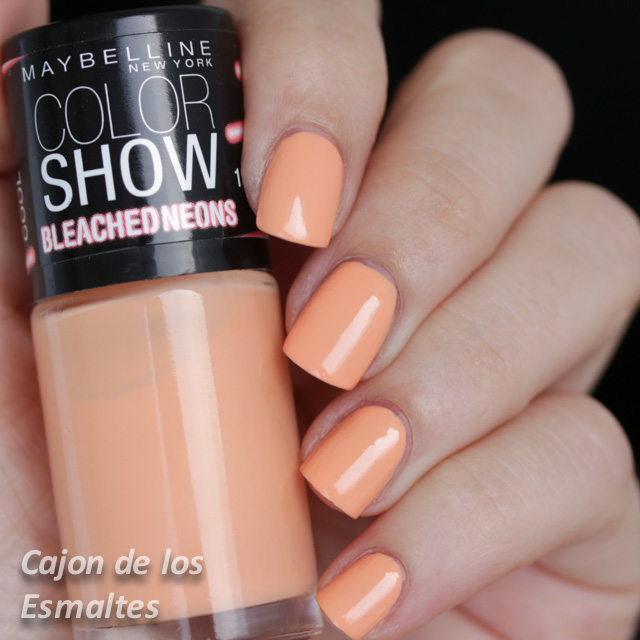 Maybelline Colorshow - Orange Cool o Bleached In Peach