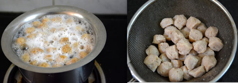 how to cook soya chunks