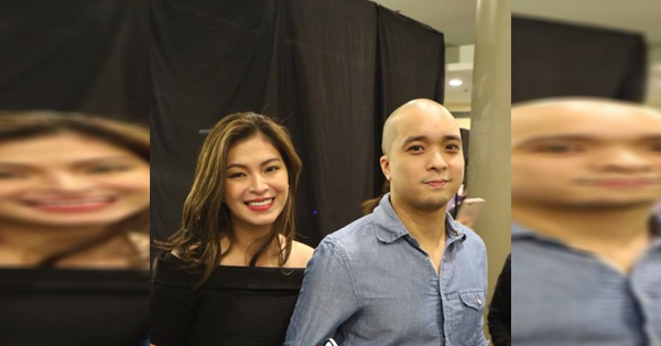 """Angel Locsin And Neil Arce Were Spotted At The Premiere Night Of """"Sid And Aya"""""""