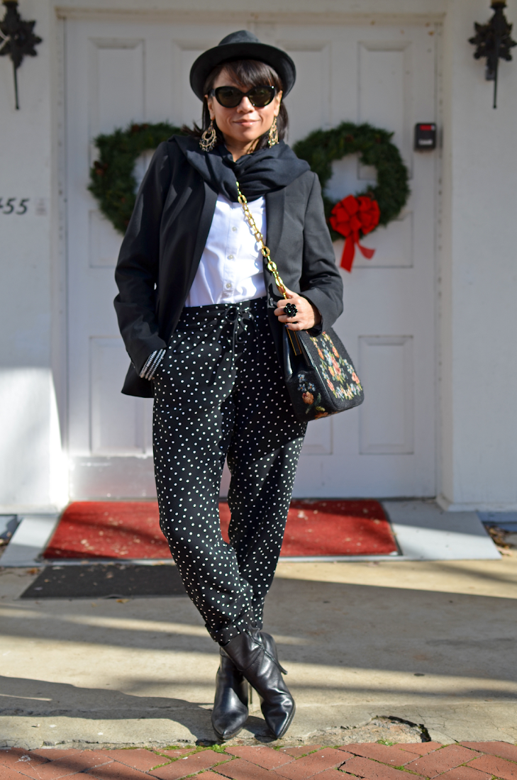Polka Dots Pants Boy George Style Look