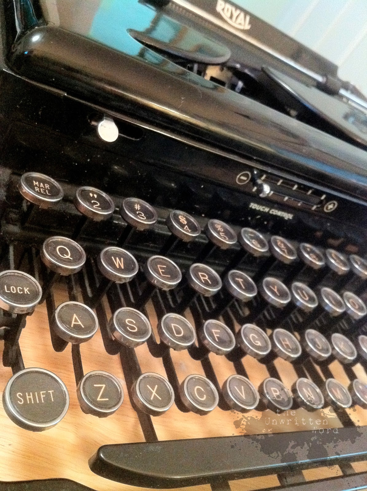 The Unwritten Word: Tools of the Trade: Rattletrap (the) Typewriter