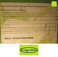 Information: GrüNatur Gesundheitsapotheke - PuroFix Öko Geschirr-Reinigungs-Tabs