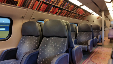 vagone biblioteca Olanda