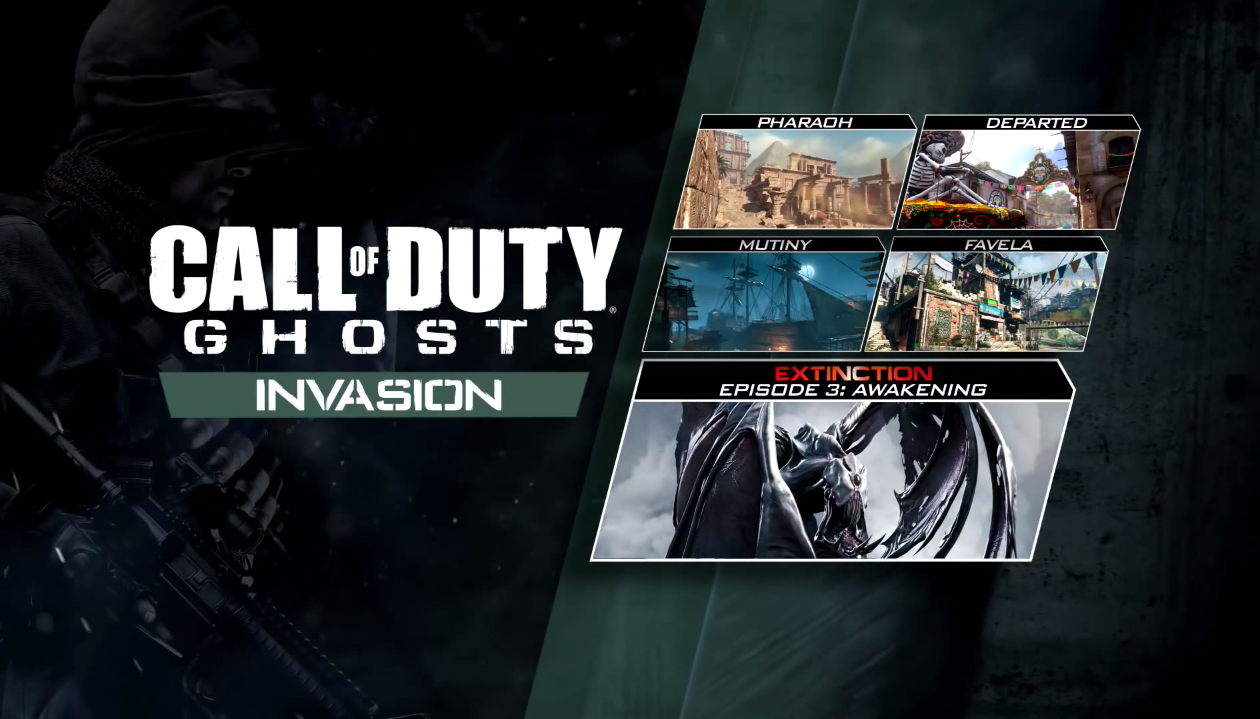 Call Of Duty Ghosts Gets New Invasion Dlc For Ps3 Ps4 And Pc