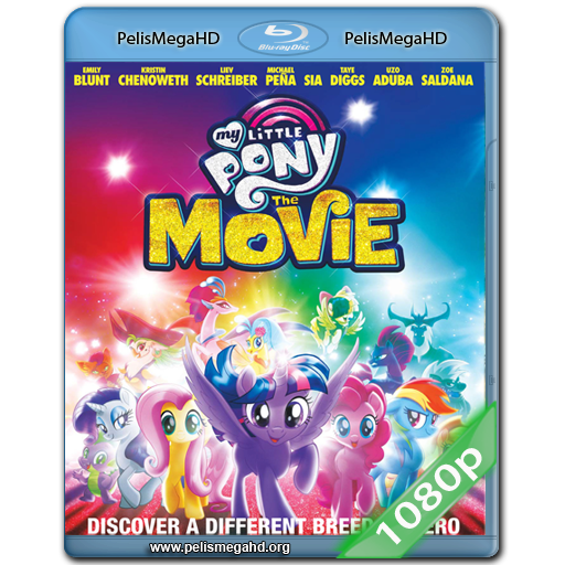 MY LITTLE PONY: LA PELICULA (2017) FULL 1080P HD MKV ESPAÑOL LATINO