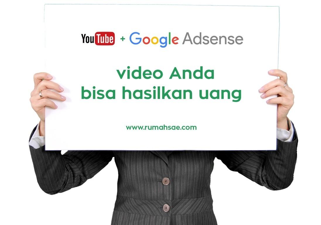 Di YouTube Video Anda Bisa Hasilkan Uang