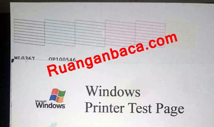 Cara Mengatasi Hasil Print Bergaris Pada Printer Epson Ruanganbaca Com