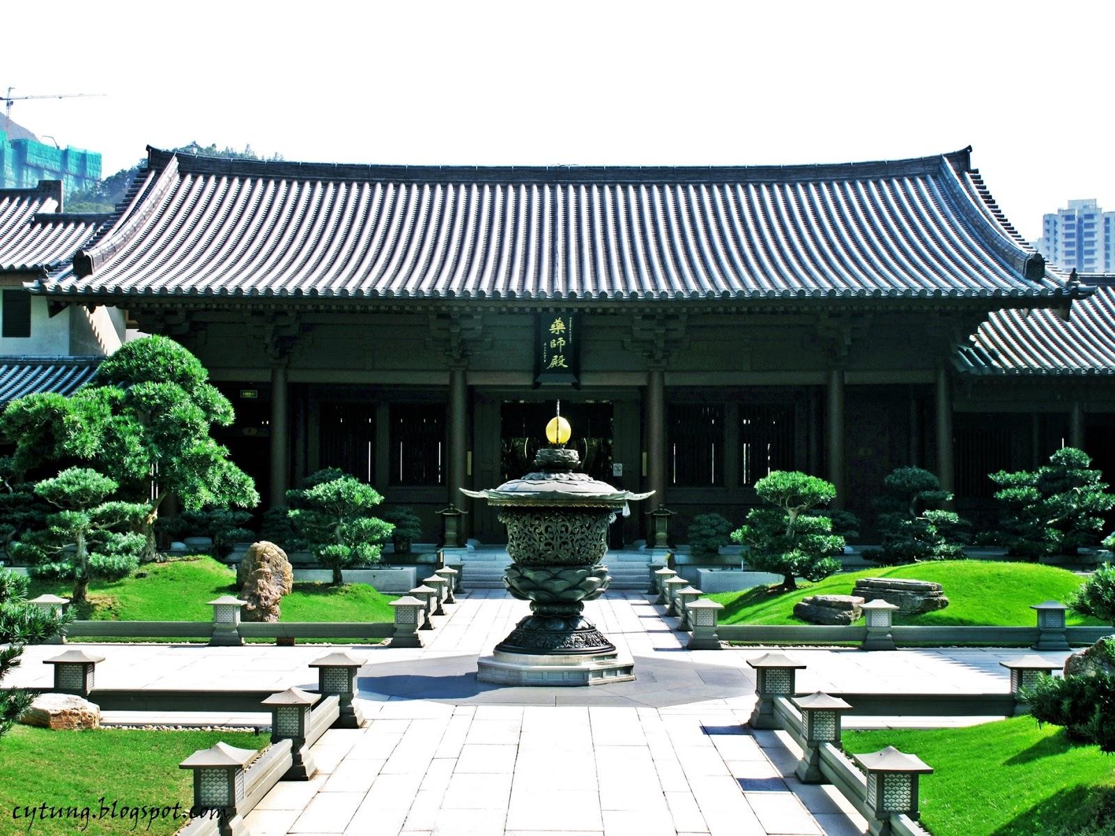 香港 - 志蓮凈苑(Chi Lin Nunnery) - 鰻游の世界