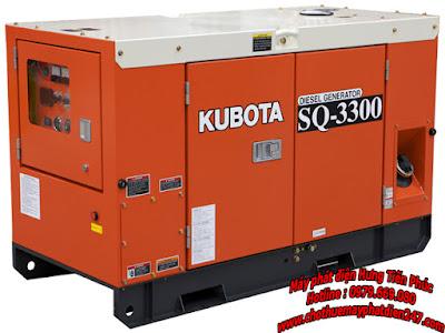 Máy phát điện Kubota SQ-3330-CAN-SW