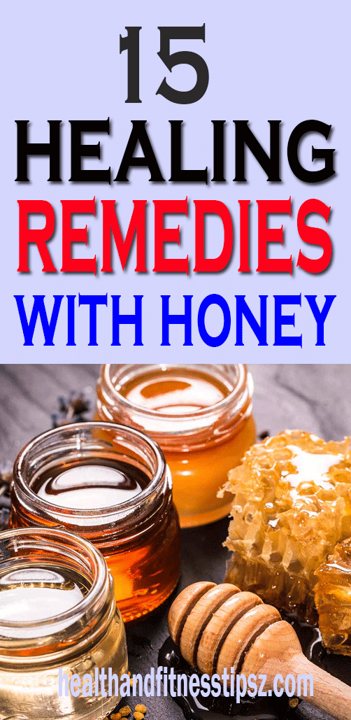 15 Healing Remedies With Honey
