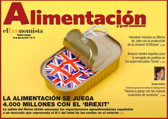 REVISTA ALIMENTACION EL ECONOMISTA ABRIL 2019