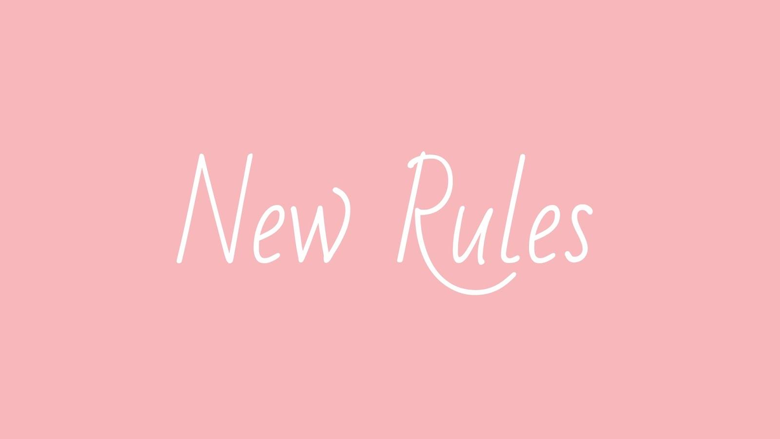 New Rules, New Rules tumblr, Dua Lipa, novas regras, skam serie