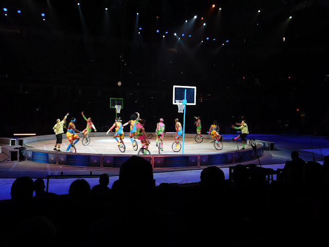 Our #OutofThisWorld night with Ringling Bros and Barnum and Bailey Circus   Basketball