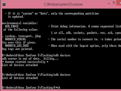 Download All types ADB Fastboot Tool Asus
