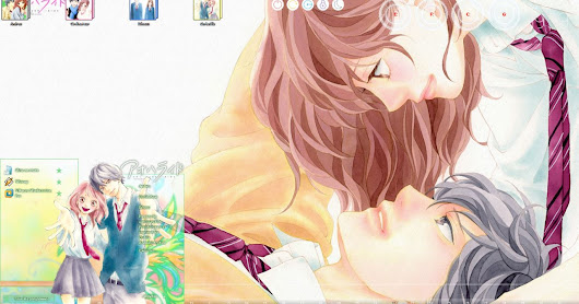 [ThemeWIN7] Ao Haru Ride V2 Windows 7 by andrea_37