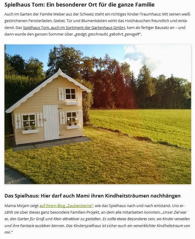 Kinderspielhaus, Gartenhaus GmbH