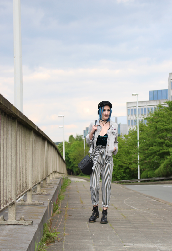 photo pour look pantalon paperbag