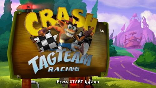 Crash Tag Team Racing PSP ISO - Download Game PS1 PSP Roms