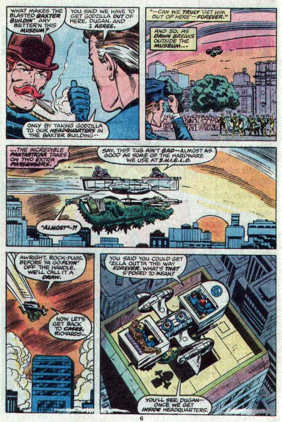 Godzilla (1977) Issue #21 #21 - English 5