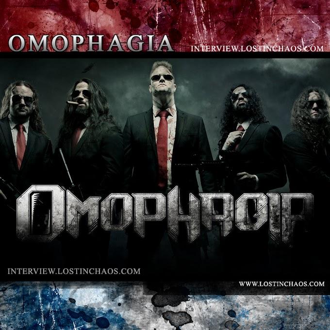 OMOPHAGIA Interview (Zurich, Switzerland)