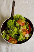 (salatka z parmezanem