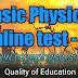 Basic Physics Online Quiz -2