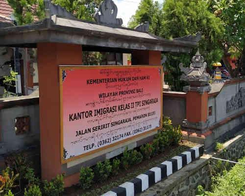 Alamat Telepon Kantor Imigrasi Kelas II Singaraja - Bali