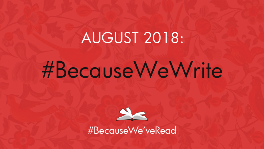 BecauseWeveRead August: Call for Writing! | JooJoo Azad