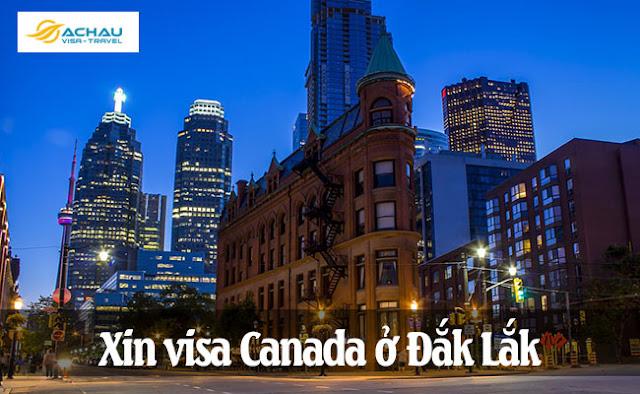 Xin visa Canada ở Đắk Lắk