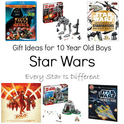 Star Wars gift ideas for 10 year old boys.
