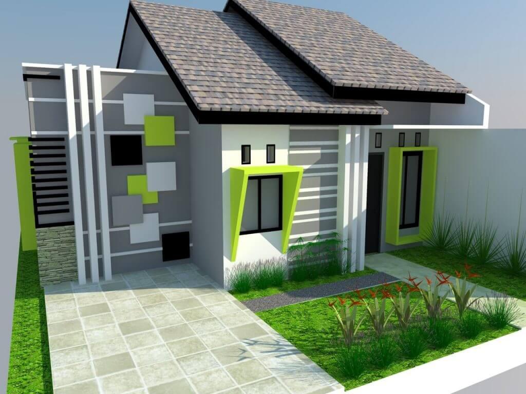 35 Bentuk Rumah Sederhana Ukuran 6 X 9 Berkonsep Minimalis Modern