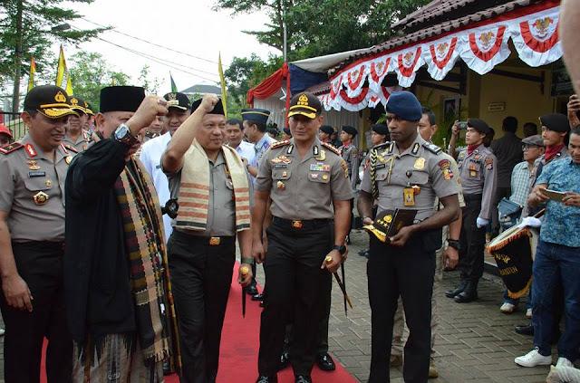 Kapolri Jadi Jawara Banten